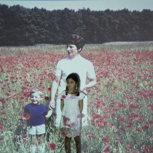 'Mohn I' | Mädchenzeit II (2013) Photographie
