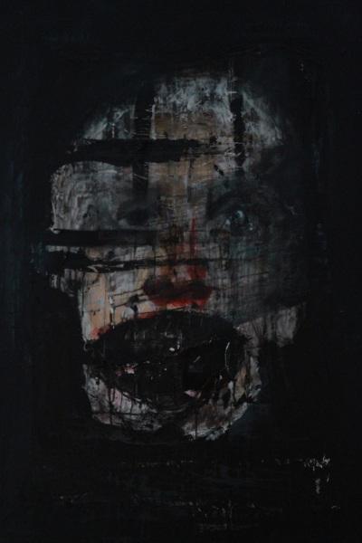 'Was bleibt?' | Mädchenzeit II (2013/2014) Mixed Media auf Leinwand, 120x160cm